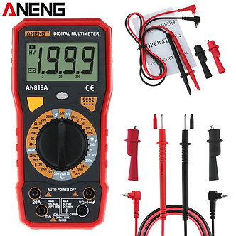 ANENG AN819A Digital Multimeter AC/DC Voltage Ammeter Capacitance Resistance