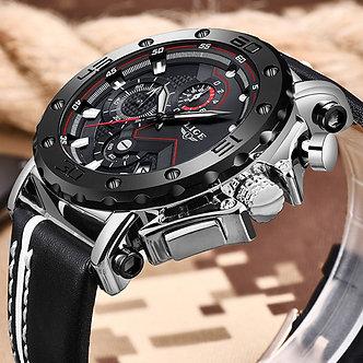 2020 Casual Men Watch LIGE Top Brand Watch Men Quartz Clock Male Military Sports