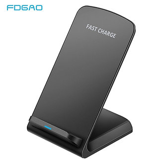 10W Qi Wireless Charger Fast Charging for iPhone 11 8 X XR XS Max Samsung Galaxy