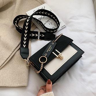 2020 New Mini Handbags Women Fashion Ins Ultra Fire Retro Wide Shoulder Strap