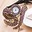Thumbnail: 2019 New Style Snake Shaped Watch Fashion Watch Bracelet Watch Unique Design