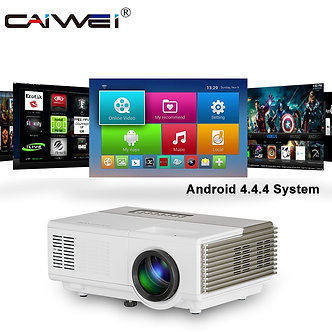 A3/A3ab HD 720P LED Mini  Projector for 1080P Wireless WiFi Video Projector