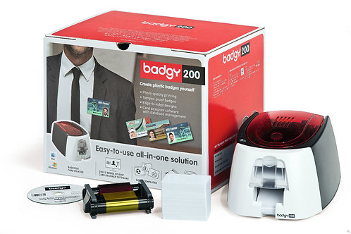 Evolis Badgy200 Office / Small Business Starter Package