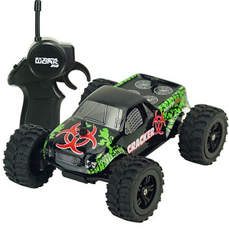 1 Set 1:32 2.4GHz Mini RC Monster Truck Car Remote Control Toys Controller Model