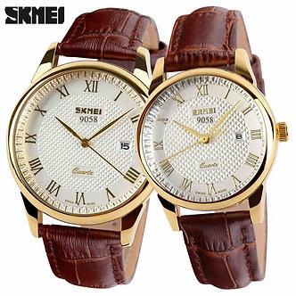 2020 SKMEI Brand Watches Men Quartz Business Fashion Casual Watch Full Steel