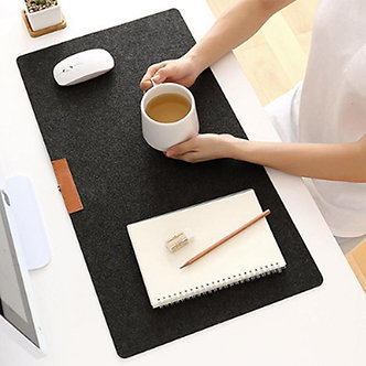 700x330mm Large Office Desk Mat Modern Table Keyboard Computer Mouse Pad Wool