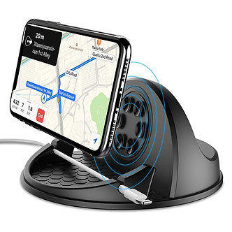 10W Fast Charging Wireless Car Charger for Samsung S9 Iphone X QI Wireless