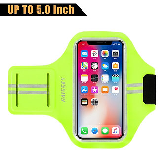 5.0 Inch Sports Running Portable Armband on Hand for iPhone Huawei Xiaomi Phone