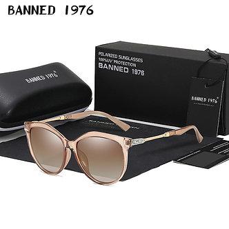 2021 New Luxury HD Polarized Women Sunglasses Fashion Round Ladies Vintage Brand