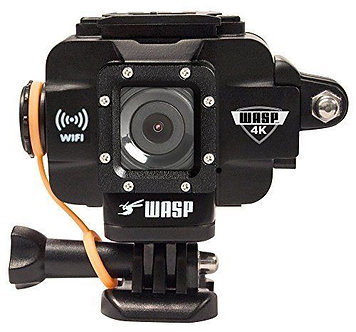 NEW WASPcam 4K 9907 Action-Sports Camera, Black