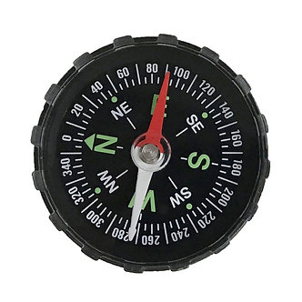 1PC Portable Mini Precise Compass Practical Guider for Camping Hiking North