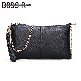 15 Color Genuine Leather Women's Bag Designer High Quality Clutch Fashion Women