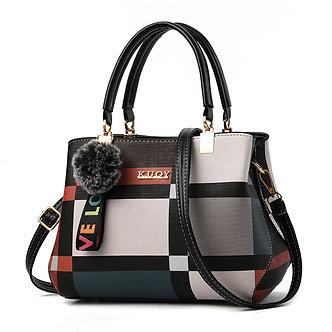2020 Women Bag PU Leather Handbag for Feminina Female Luxury Messenger Bag