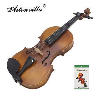 Astonvilla Handmade 4 / 4 Reaationary Vintage Violin Exquisite Sub-Gloss
