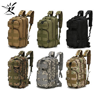 1000D Nylon Tactical Backpack Military Backpack Waterproof Army Rucksack Outdoor