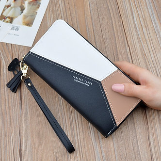 2020 Leather Wallet Women Luxury Big Capacity Clutch Long Ladies Purse Card