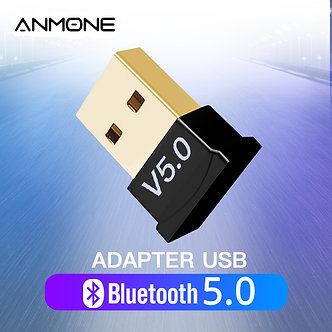 ANMONE Mini Bluetooth 5.0 Receiver Dongle Wireless USB Transmitter Music