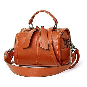 2021 New Women Leather Crossbody Bag Small Messenger Bags Lady Cute Handbags