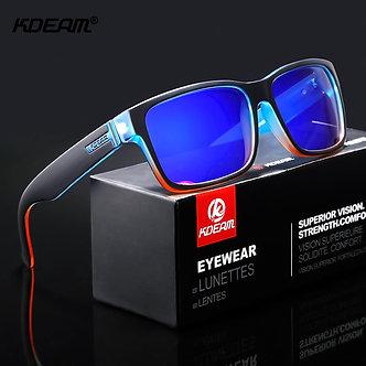 KDEAM Revamp of Sport Men Sunglasses Polarized Shockingly Colors Sun Glasses