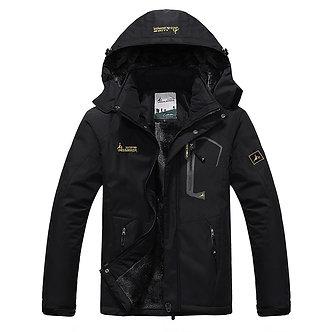 2021 Men's Winter Inner Fleece Waterproof Jacket Outdoor Sport Warm Brand Coat