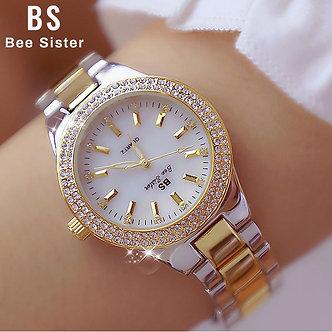 2021 Ladies Wrist Watches Dress Gold Watch Women Crystal Diamond Watches