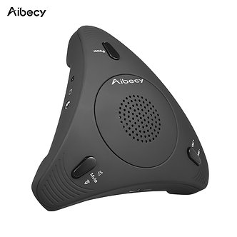 Aibecy USB Desktop Computer Conference Omnidirectional Condenser Microphone
