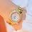 Thumbnail: 2021 Ladies Wrist Watches Dress Gold Watch Women Crystal Diamond Watches