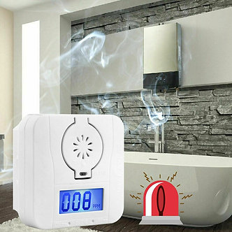 1/2/4pcs Carbon Monoxide-Smoke Detector Alarm Poisoning Gas Detector Warning