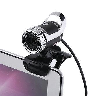 360 Degrees USB2.0 Camera 12M Pixels HDWeb Cam Clip-On Digital Video Webcamera