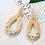 Thumbnail: AENSOA Multiple 27 Style Korea Handmade Wooden Straw Weave Rattan Vine Braid