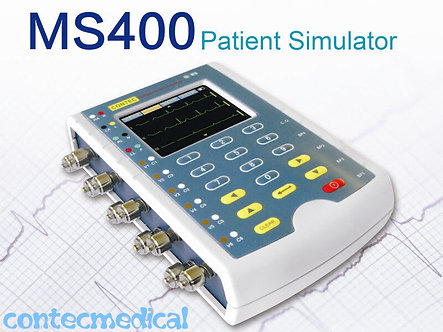 MS400 Portable Multiparameter Patient Simulator Monitor, Touch Screen, US Seller