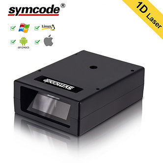 Automatic Barcode Scanner,Symcode USB Laser Wired Handheld Portable Box Automat