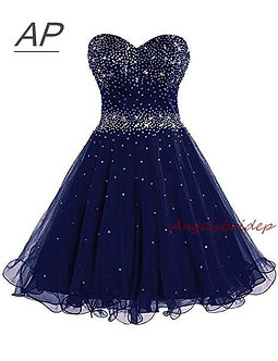 ANGELSBRIDEP Sparking Beading Homecoming Dress Vestido De Formatura Curto