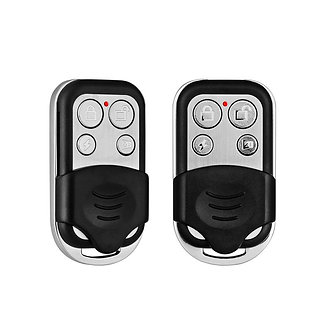 2pcs/Lot 433MHZ Wireless Remote Controller Metal Keychain for G18 G19 W2 W1 Home