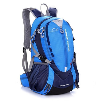 25L Waterproof Nylon Riding Backpack Men Outdoor Sport Bike MTB Road Bag