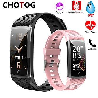 2020 Fitness Bracelet Blood Pressure Fitness Tracker Waterproof Smart Bracelet