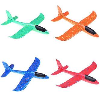 37CM EPP Foam Hand Throw Airplane Outdoor Launch Glider Plane Kids Gift Toy