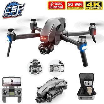 2020 New M1 Pro Drone HD Mechanical 2-Axis Gimbal Camera 4K HD Camera 1.6KM