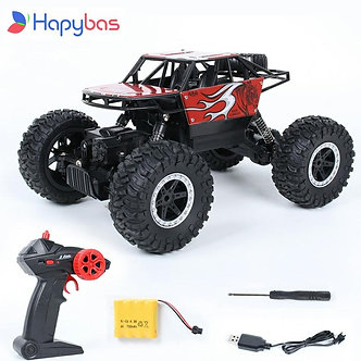 2.4Ghz Four-Wheel Drive Rc Car Toy Off-Road Vehicle Mountain Big Foot Remote