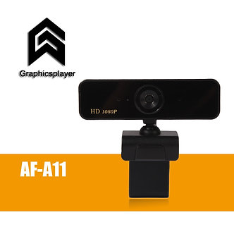 Auto Focus Webcam 1080P, HDWeb Camera With Built-In HD Microphone 1920 X 1080p