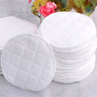 10pcs Three Layers of Ecological Cotton Washable Breastfeeding Pads Nursing Pads