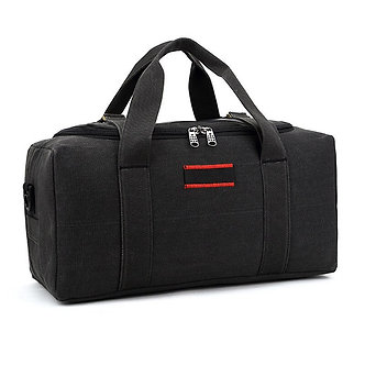 2021 Canvas Travel Bag Weekend Bag Large Capacity Overnight Bag Shoulder Men