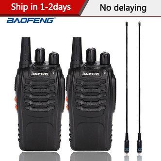 2pcs/Lot Baofeng BF-888S Walkie Talkie Two Way Radio BF 888s UHF 400-470MHz 16CH