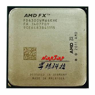 AMD FX-Series FX6300  FX 6300 3.5 GHz Six-Core CPU Processor FD6300WMW6KHK