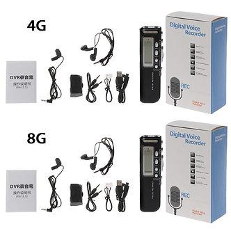 1 Set New 4gb/8gb USB Pen Digital Voice Recorder Voice Activated Digital Audio