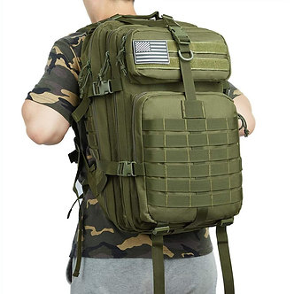 50L Large Capacity Man Army Tactical Backpacks Military Assault Bags 900D