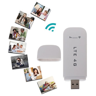 4G LTE USB Modem Network Adapter With WiFi Hotspot SIM Card 4G Wireless Router