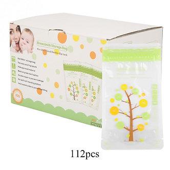 112pcs 235ml Breast Milk Storage Bag Mother Milk BPA Free Baby Safe Feeding Bags