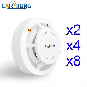 2262 Code 433MHz Wireless Smoke Detector for Home Burglar Alarm System Sensor