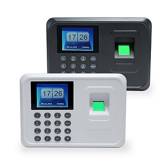 A5 2.4in Biometric Fingerprint Time Attendance System Clock Recorder Office TFT